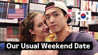 Day in the life of International Couple's Vlog / 국제커플의 흔한 주말 일상 (월세, 노래방, 타코벨)