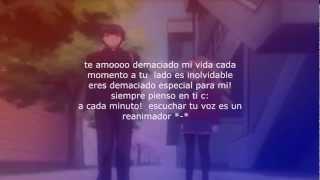 "Toradora amv ""Dedicado para mi c: amorcito pathi♥"""