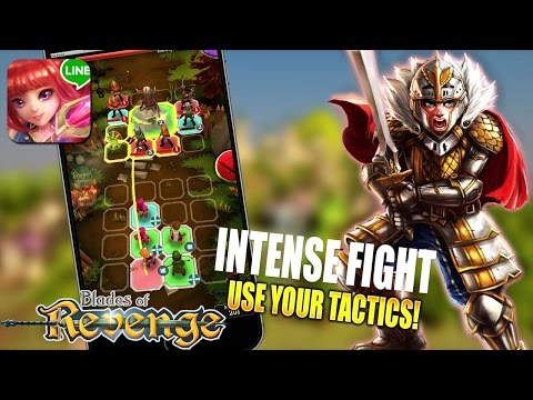 LINE Blades Of Revenge Gameplay Android / IOS