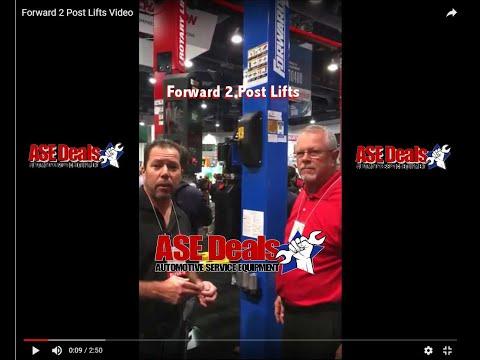 Forward 2 Post Lifts At SEMA Automotive Show Vegas 2018