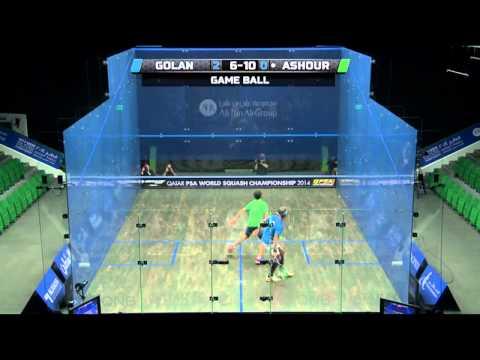 Squash: 2014 PSA World Championship Quarter-Finals Roundup Pt 1