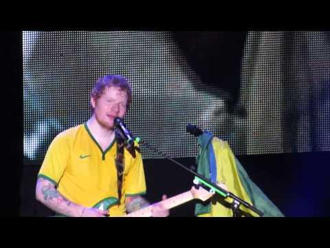 Kiss Me/ Thinking Out Loud - Ed Sheeran (Rio de Janeiro - Brazil) 30/04/2015