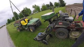 Super Mower & Ditchin' Hangover