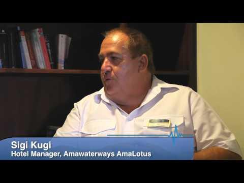 A chat with Sigi Kugi, AmaLotus Hotel Manager