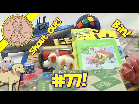 Shout Out Time! (Video #77) - Bin Day! Puzzles, Games & Toys