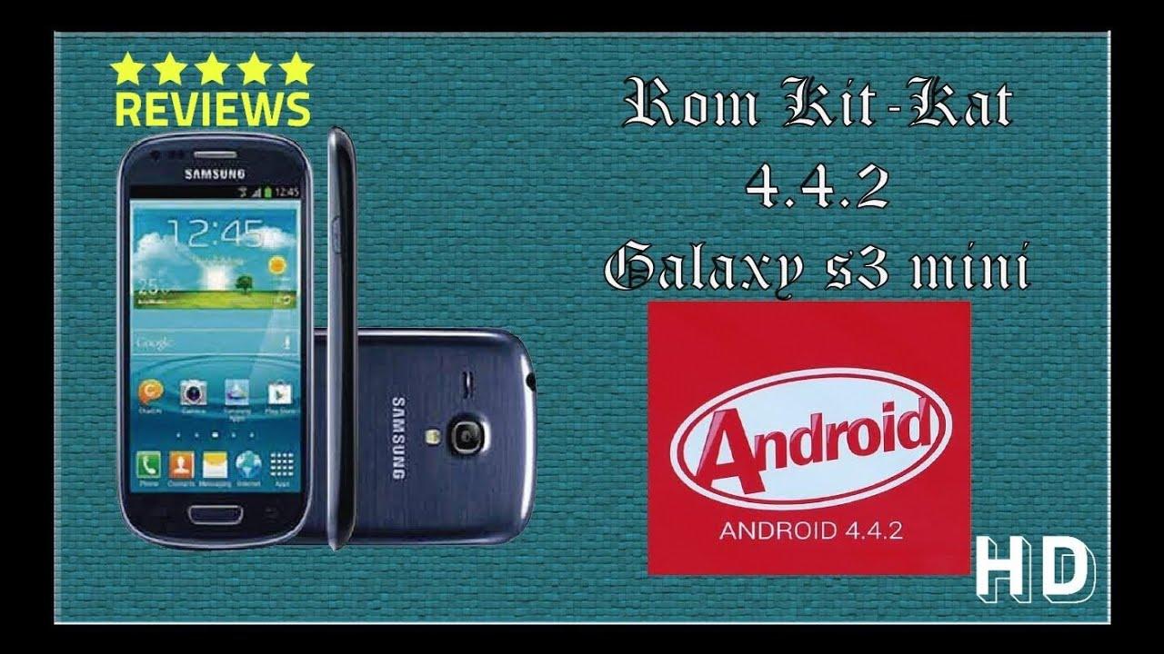 Instala Android 4.4.2 en Galaxy S3 Mini (Español) - YouTube