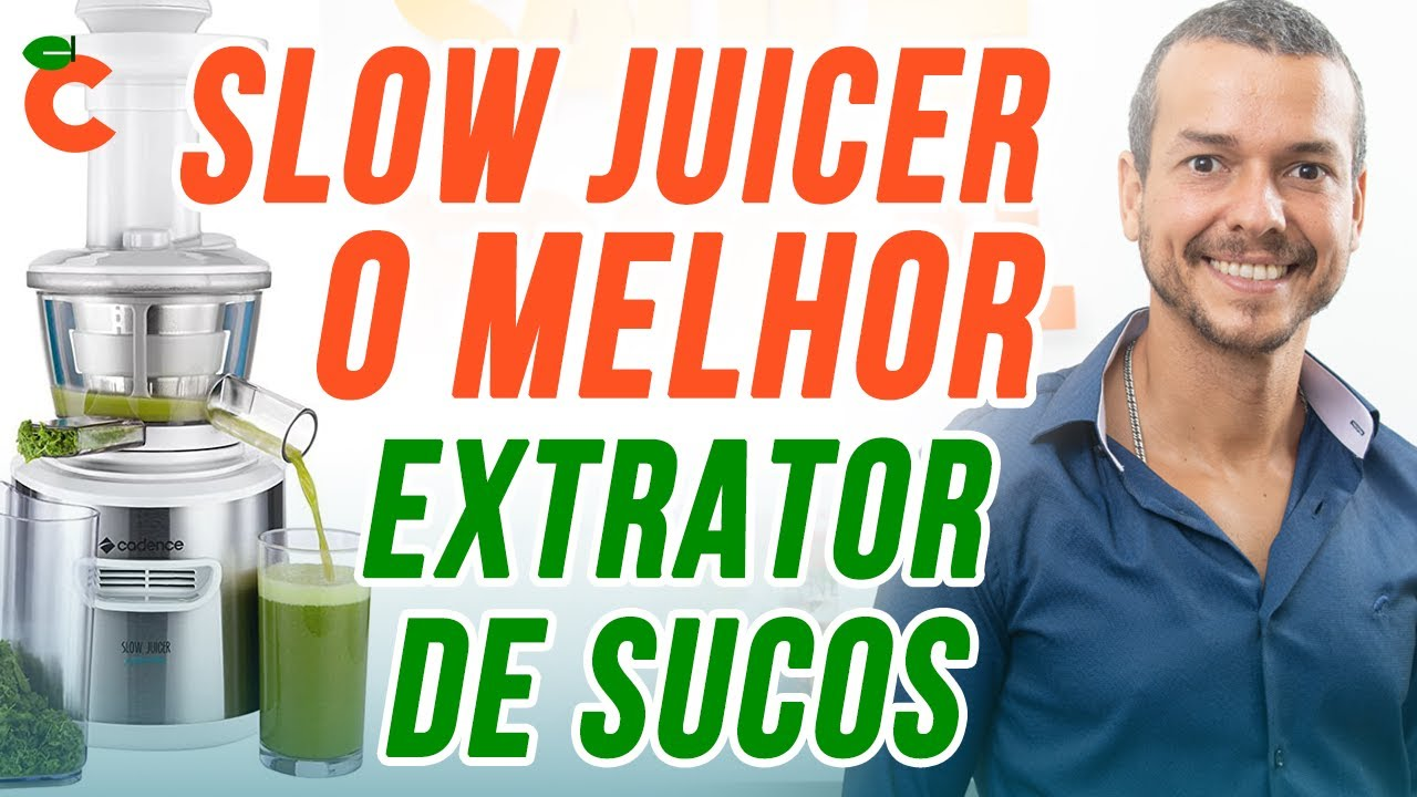 Slow Juicer Mondial E Bom : Centrifuga slow juicer cadence perfect vita jcr 900 review barato bom e nacional - YouTube