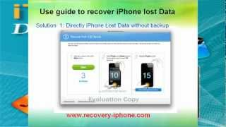 iPhone and iTunes Data Recovery-How to recover iPhone 4S lost Contacts SMS Photo Video?
