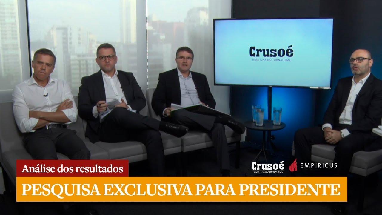 Resultado de imagem para Pesquisa para Presidente - Crusoé/Empiricus
