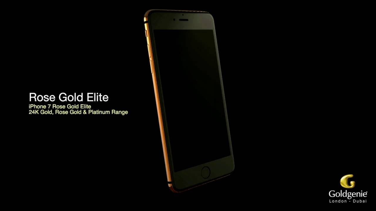 24k Gold Iphone 7 Range Goldgenie New Video