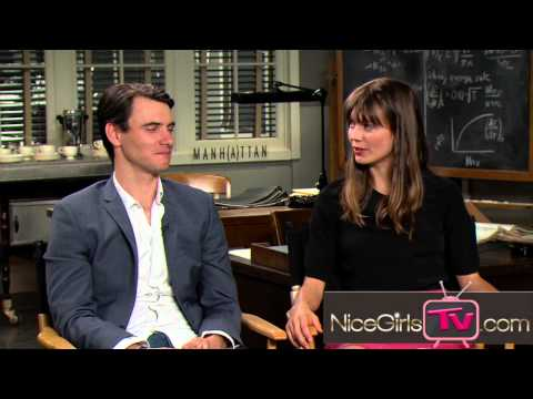 Harry Lloyd & Katja Herbers Paul & Helen On Manhattan's Season Two!