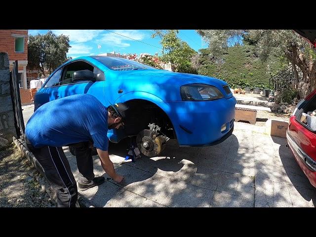 Cómo cambiar rótula brazo suspensión Opel astra G Coupé 2.2 Z22SE | Bertone Project