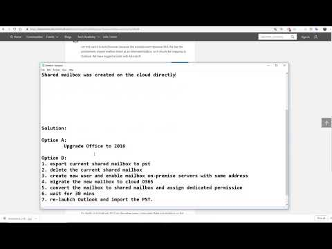 Solve Outlook 2013 AutoMapping for Shared mailbox not work - YouTube