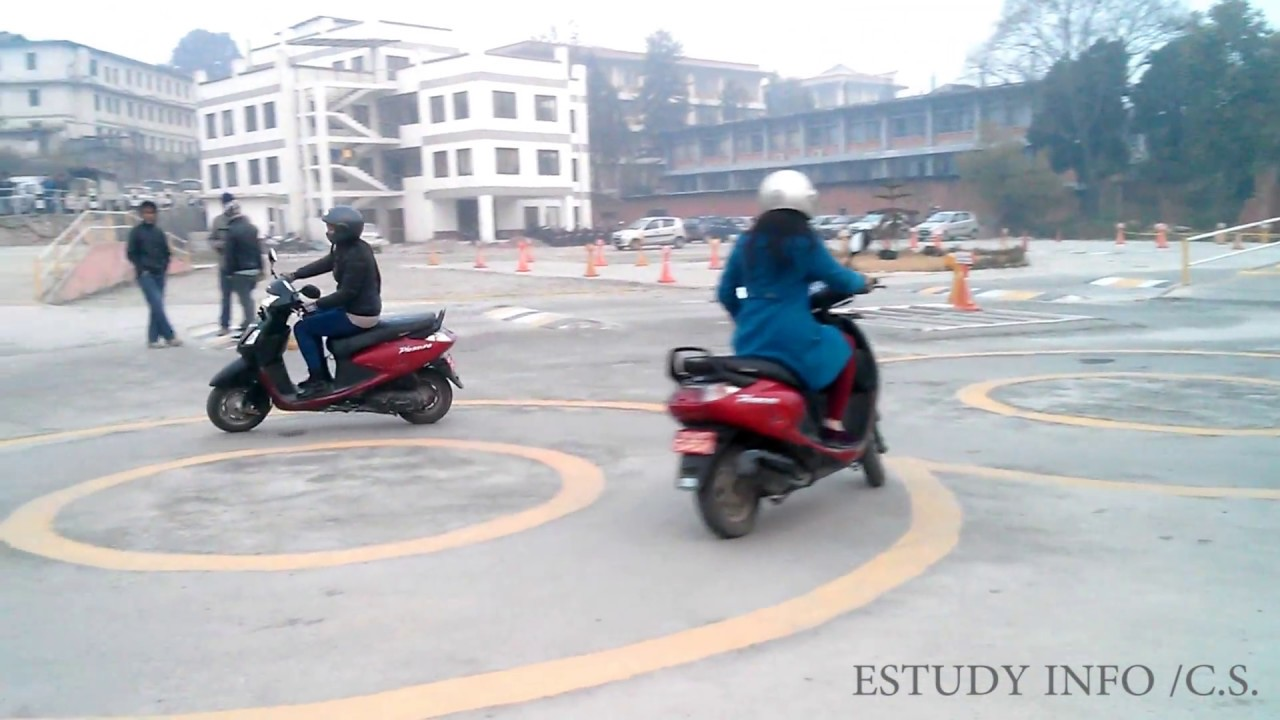 Bike Scooter License Trial Nepal Youtube
