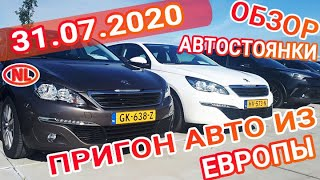 Пригон авто под заказ в Украину: Обзор автостоянки в Голландии 31.07.20!!!