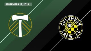 HIGHLIGHTS: Portland Timbers vs. Columbus Crew SC | September 19, 2018
