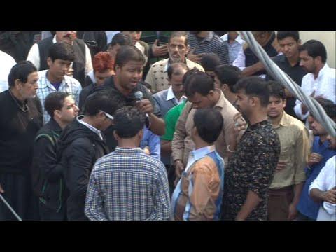 SUBBAT ILAIYYA...Anjuman Masoomiya Hussainia Lucknow 25 Moharram Rampur U.P