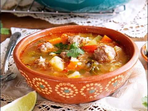 Albondigas (Mexican Meatball Soup)  | Muy Bueno