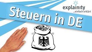 Steuern in Deutschland einfach erklärt (explainity® Erklärvideo)