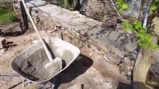 Oprava kamenne zdi