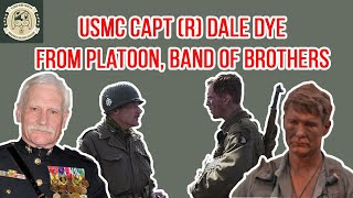 Dale Dye - Retired Marine Captain and Advisor/Actor from Platoon and Band of Brothers