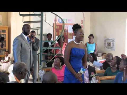 Bridesmaid Entrance Tells The Story