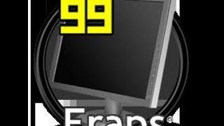 Fraps tutorial verze  3.4.7