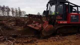 AHWI RT400 Mulcher Stumps & Brash - FOR HIRE