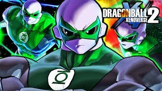 Dragon Ball Xenoverse 2 PC: Green Lantern Jiren DLC Mod Pack Gameplay (What If Jiren Green Lantern)