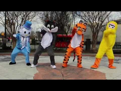 Cartoon Characters | OFFICIAL WHIP DANCE | Dragon House