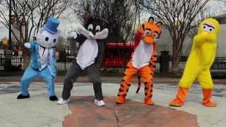 Cartoon Characters | OFFICIAL WHIP DANCE