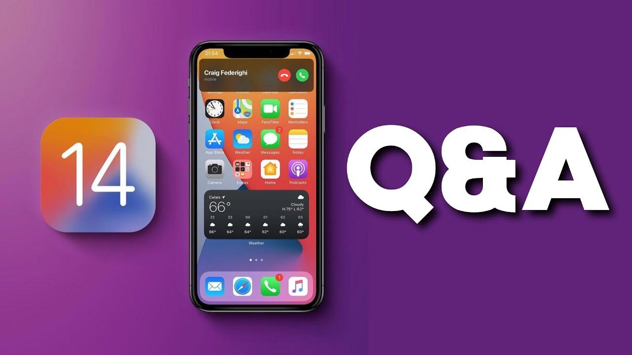 Q&A - iPhone fekete képernyő, iOS 13 visszaállítás! - Apple kérdések tőletek!