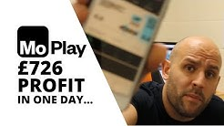 MoPlay Review | How I Made £726 Betting Profit in One Day