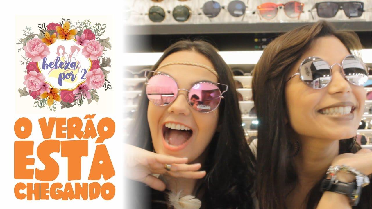 b14bb1461 Tendência de Óculos para o Verão 2017 - YouTube