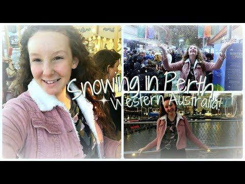 SNOW In PERTH, WESTERN AUSTRALIA!! ❄️⛷