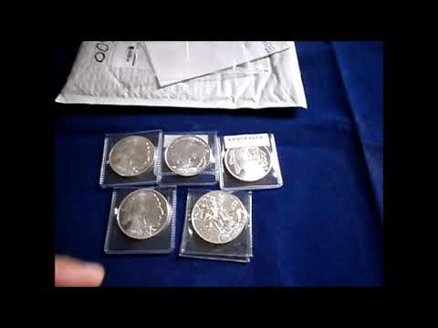 Unboxing Of 5 oz Silver