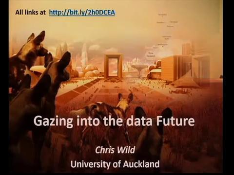 Gazing into the data future