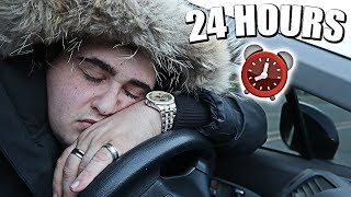 24 HOURS OVERNIGHT CHALLENGE IN A CAR   *CARPOOL KARAOKE*   YOU WOULD NOT BELIEVE WHAT HAPPENED!!