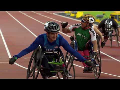 Men's 100m T52 |Final | London 2017 World Para Athletics Championships