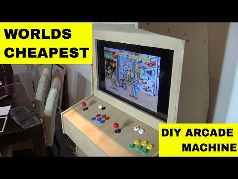 Ladcade - US$200 Cheap DIY Full Size Aracade Machine What you need (Build log #1)