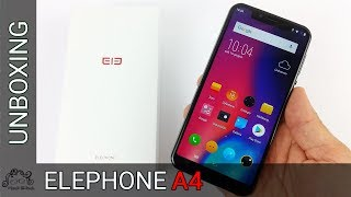 Elephone A4 - Unboxing in italiano - Che design!