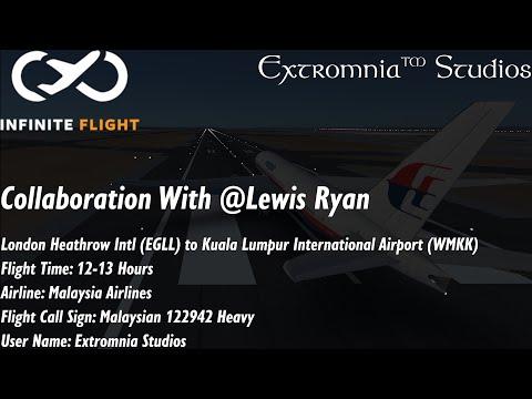 Infinite Flight   Live   (S:01) (E:09)   London Heathrow (EGLL) to Kuala Lumpur Intl (WMKK) from YouTube · Duration:  10 hours 26 minutes 49 seconds