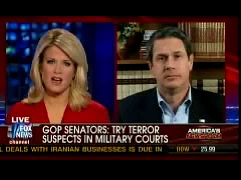 Louisiana Senator David Vitter on Trying Terrorists As Criminals
