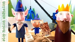 Building yard Ben & Holly's Little Kingdom Stop Motion Animation