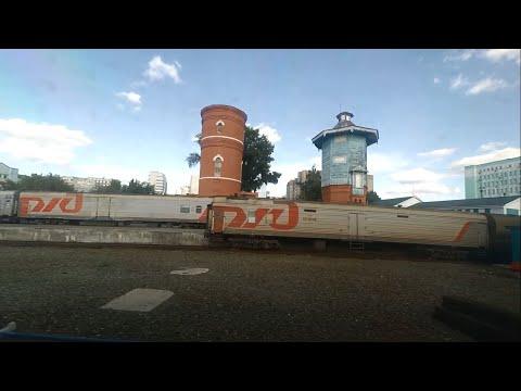 От Новосибирска до Тайги из окна поезда