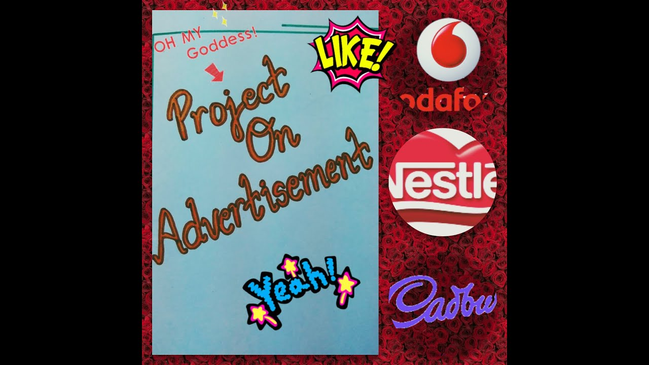 Project on Advertisement || Class 11th Project - YouTube