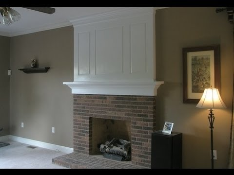 Fireplace Makeover before And After YouTube