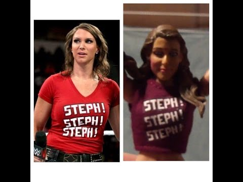 My Custom:Stephanie McMahon WWE Mattel Elite Figure thumbnail