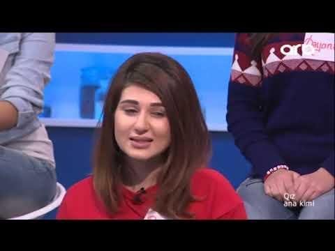 Qız ana kimi realiti şou 01 12 2016  ...
