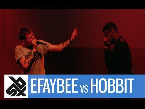 EFAYBEE vs HOBBIT |  Florida Beatbox Battle 2017  |  1/2 Final